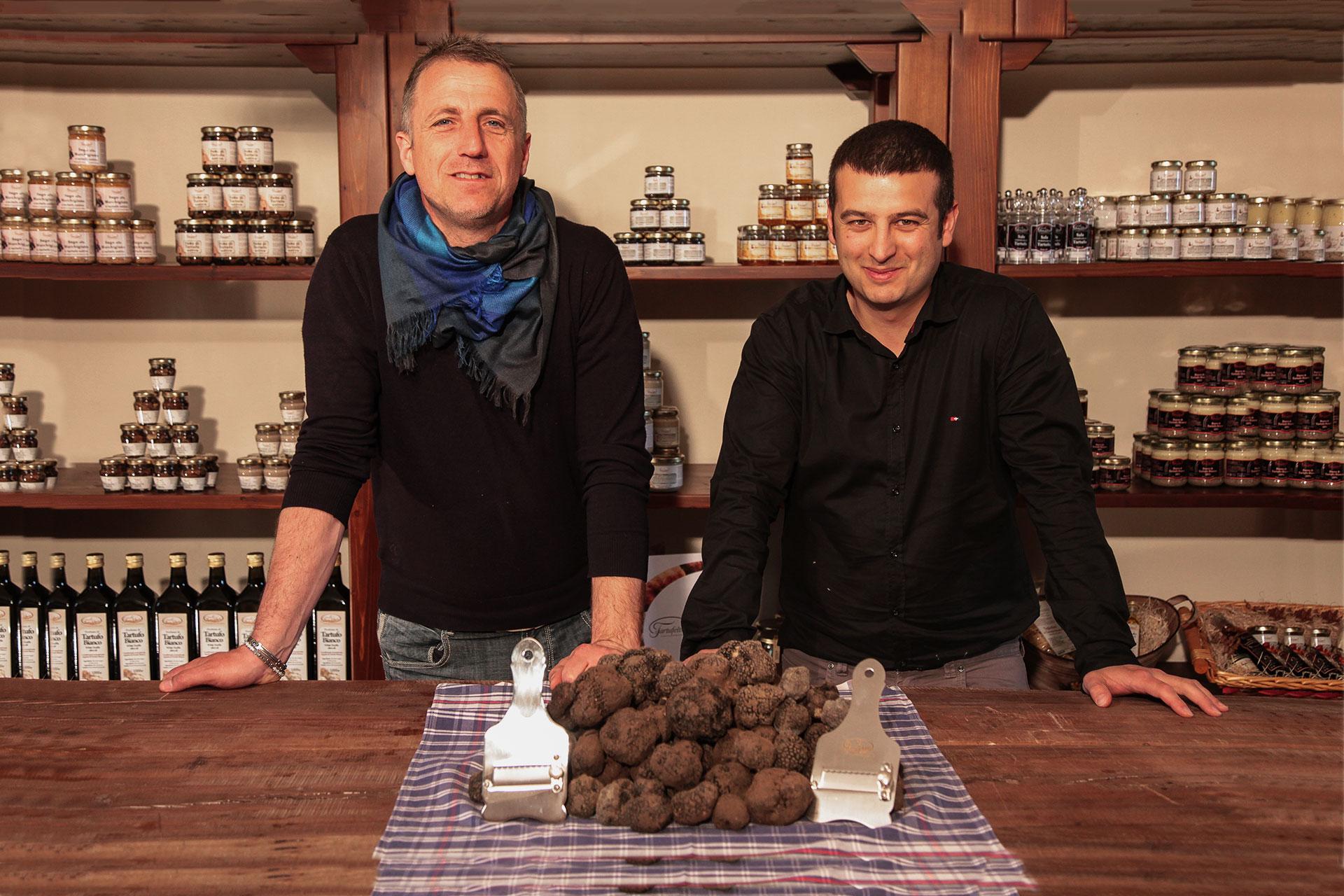 Mattia e Massimo - Il Tartufeltro, Tartufi del Montefeltro di alta qualità